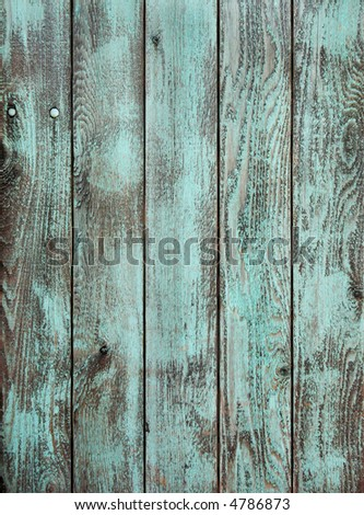 Aged wooden painted background - stock photo
