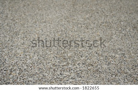 Aggregate Concrete Background - stock photo
