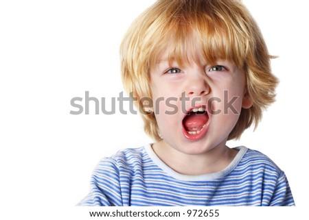 Aggression - stock photo