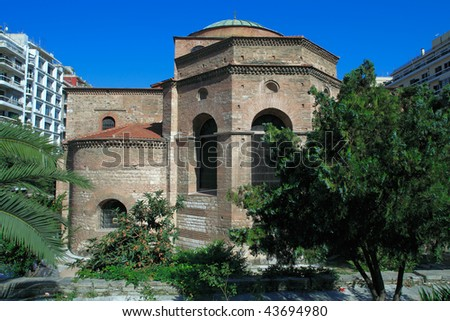 Agia Sofia church, Thessaloniki, Macedonia, Greece
