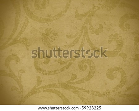 aging abstract fresco style texture close up. More of this motif & more decoratives in my port. - stock photo