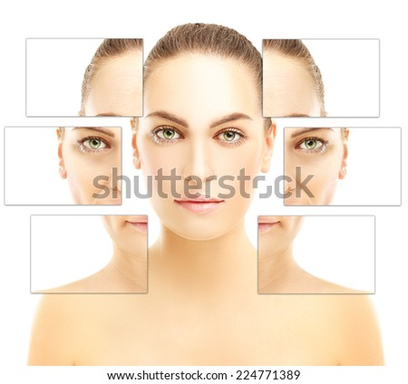 Aging process  - stock photo