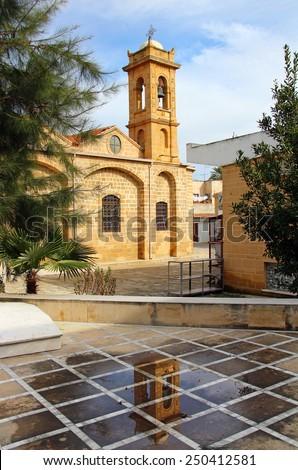 Agios Savvas church, Nicosia, Cyprus - stock photo