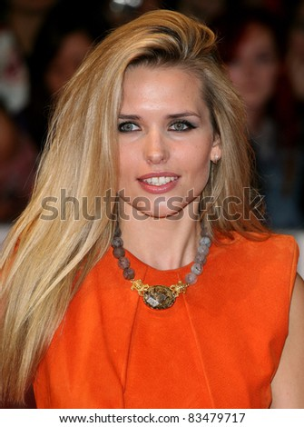 Agne Motiejunaite arriving for the European Premiere of 'One Day' at Westfield, west London. 23/08/2011  Picture by: Alexandra Glen / Featureflash