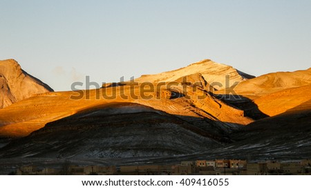 Agoudal - stock photo