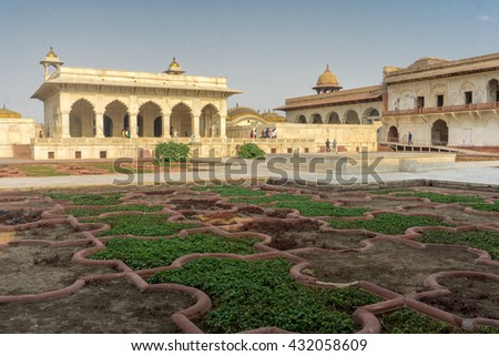 Agra Fort - stock photo