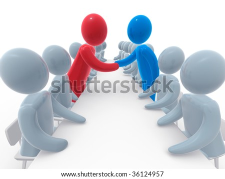 Agreement - stock photo
