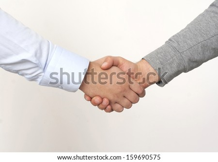 Agreement of success in the Office - stock photo