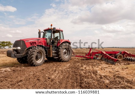 Agricultural machinery used for cultivation