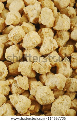agriculture protein,soya flakes,vegetable protein background