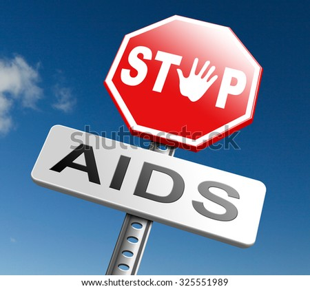 aids prevention stop HIV use a condom and have safe sex