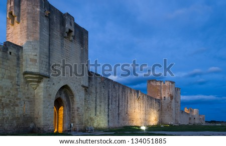 Aigues-Mortes is a commune in the Gard department in southern France.