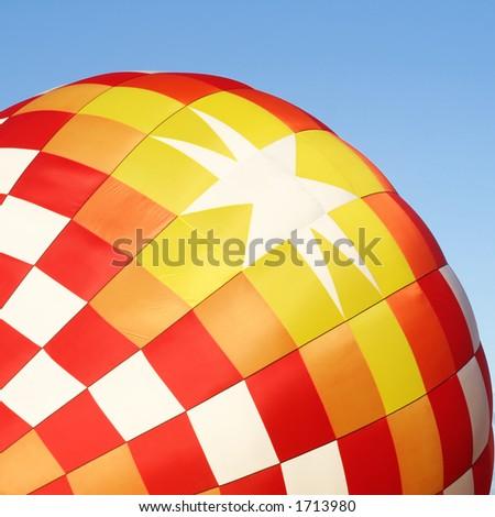 Air balloon texture - stock photo