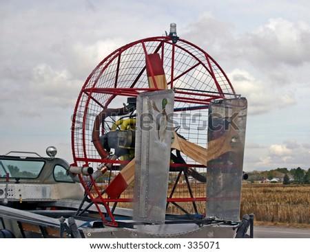 Air Boat - stock photo