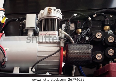 Air compressor - stock photo
