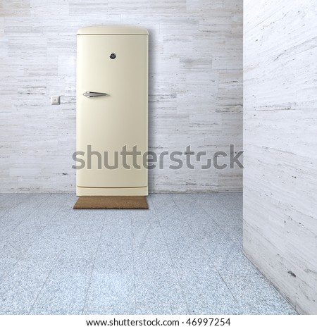Air-conditioned apartment - stock photo
