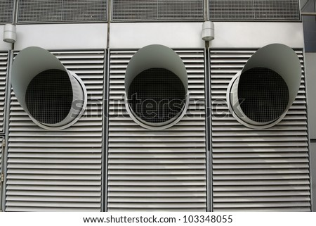 Air conditioner and ventilation duct