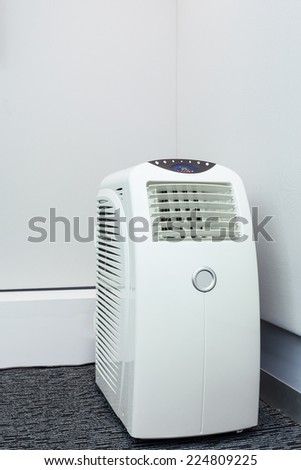 air conditioner mobile for room - stock photo