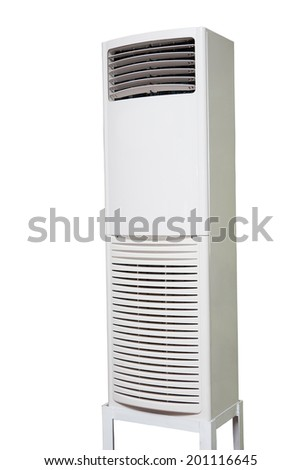 air conditioner on a stand - stock photo