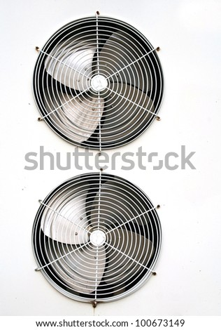Air conditioning fan - stock photo