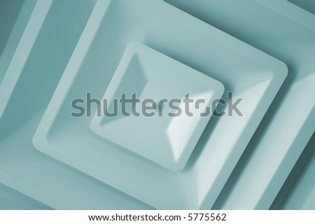 air duct cover - stock photo