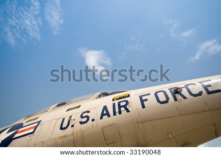Air Force Jet - stock photo