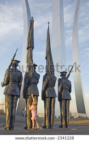 Air Force Memorial - stock photo
