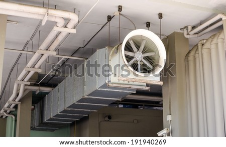 Air passage tube - stock photo