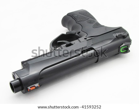 air pistol - stock photo