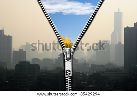 Air quality improvement - stock photo