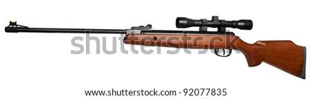 Air rifle - stock photo