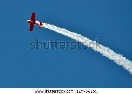 Air show - stock photo