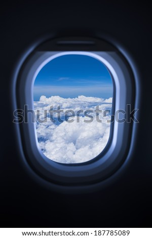 Air travel - stock photo