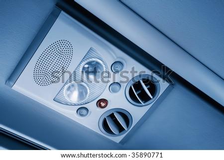 Air vent - stock photo