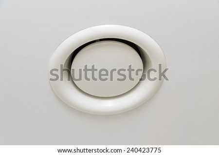 Air ventilation in the wall. Photo for microstock - stock photo