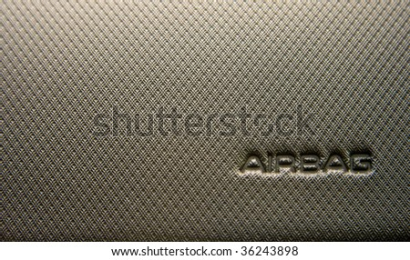 Airbag - stock photo