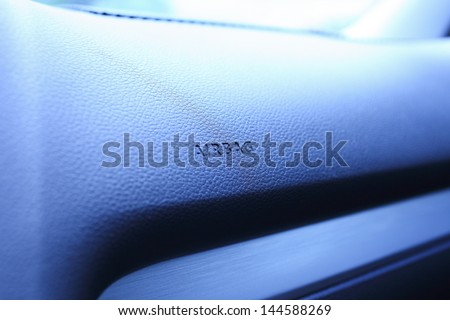 airbags - stock photo