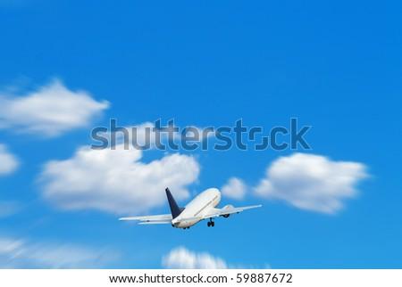 aircraft - stock photo
