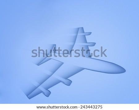 Aircraft Abstract - stock photo