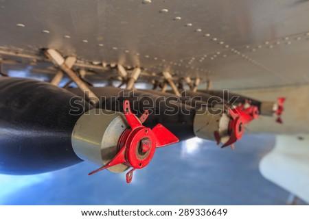 Aircraft Bomb - stock photo