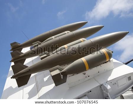 Aircraft Bombs - stock photo