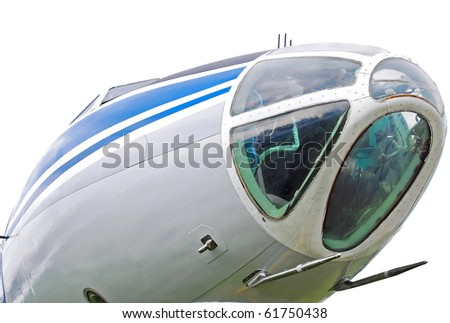 Aircraft, close up - stock photo