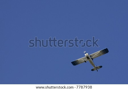 aircraft flying overhead after takeoff in Hayward, Northern California