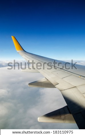 Airfoil and sky