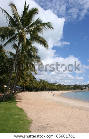 Airlie beach in Queensland Australia - stock photo
