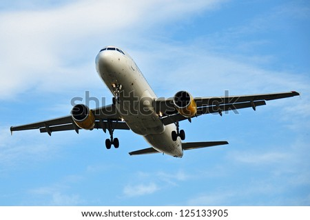 airplane - stock photo