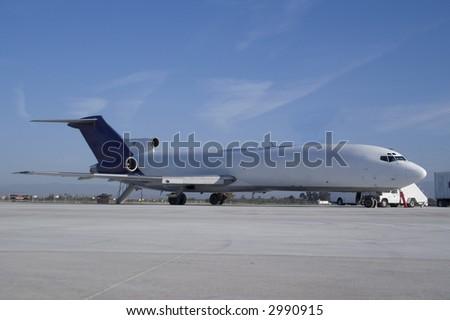 Airplane - stock photo