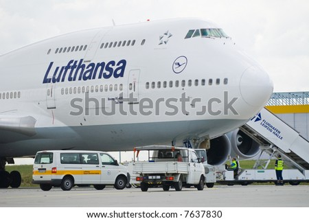 airplane at airport
