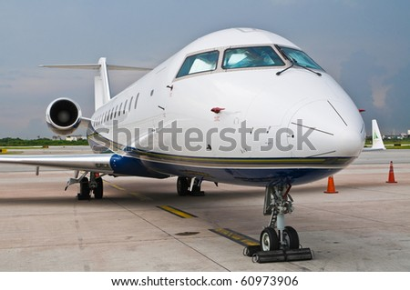 Airplane for business flights