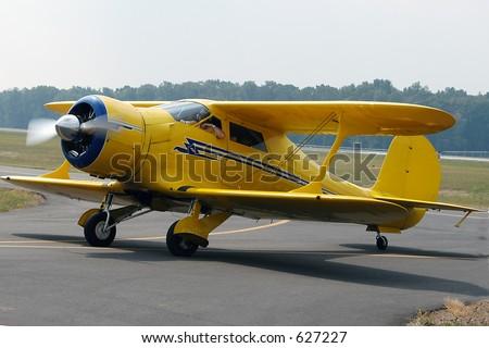 Airplane III - stock photo